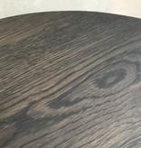 Bijzettafel hout zwart