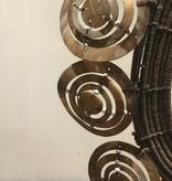 Decoratieve ketting met ringen