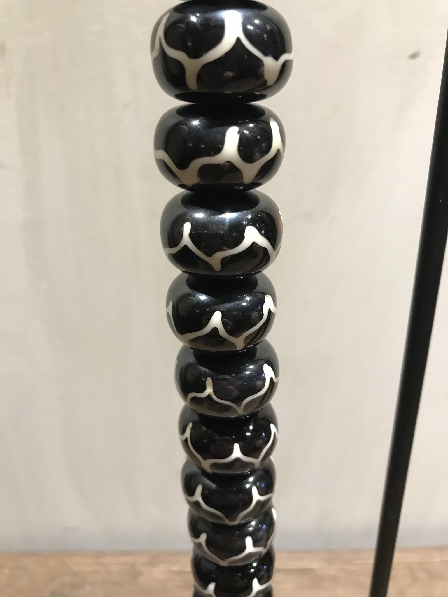 Kralen ketting zwart