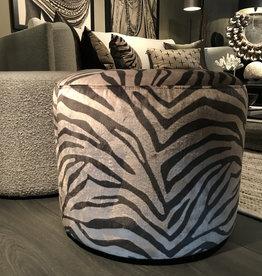 Olav home Hocker zebra