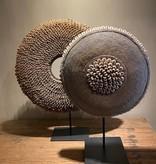 handgemaakte kralen/schelpenketting