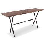 Side table eiken noir