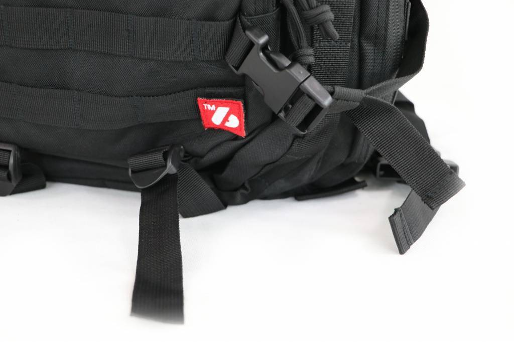 Barnett sacchetto tattico, sacchetto militare, nero