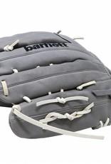 """Guanto da baseball FL-127, alta qualità, pelle, infield / outfield 11 """", grigio chiaro"""