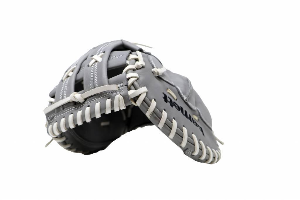 """Guanto da baseball FL-201, alta qualità, pelle, infield / outfield 11 """", grigio chiaro"""