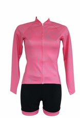 Tessile da bici - Maglia con maniche lunghe, rosa