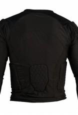 FS-08 compressione T-shirt con maniche lunghe, 5 pezzi integrati, per il calcio americano