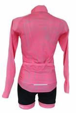 Tessile da bici - giacca a manica lunga, rosa, giacca a vento