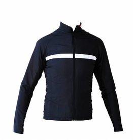 Giacca A Maniche lunghe in tessuto, giacca a vento in bianco e nero