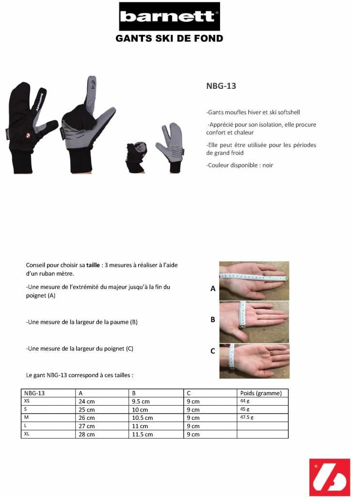NBG-13 guanto invernale e sci da -5 ° a -10 ° - rosa