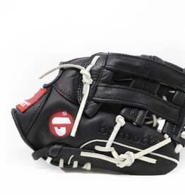 "GL-120 Competition baseball glove, genuine leather, outfield 12"" Black"