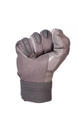 FKG-03 Guanti da football americano alto livello, linebacker, grigio