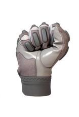 FLG-03 Guanti da football americano pro da lineman, grigio