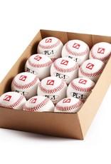 "PL-1 Palle da baseball, partita, ""Élite"", 9"", bianco, 12 pz"