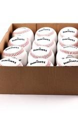 LL-1 Palle da baseball, competizione/allenamento, 9'', bianco, 12 pz