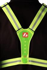 LW-1 Gilet fluo con LED per gli allenamenti notturni