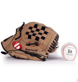 "GBSL-3 Kit da baseball, senior – Guantone di pelle, palla (SL-110 11"", LL-1 9"")"