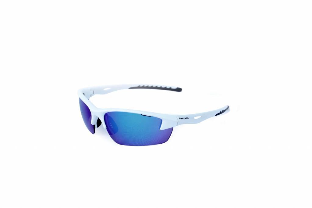 3dfa6f4a296a2 barnett GLASS-1 Gafas de sol blancas deportivas