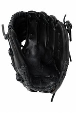 "GL-110 Guante de béisbol cuero infield 11.5"" (pulgadas) negro"