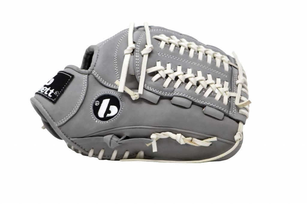 "FL-120 guante de béisbol de alta calidad infield/outfield/pitcher 12"", gris claro"