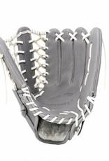FL-127'' guante de béisbol cuero de alta calidad infield/outfield/pitcher, gris claro