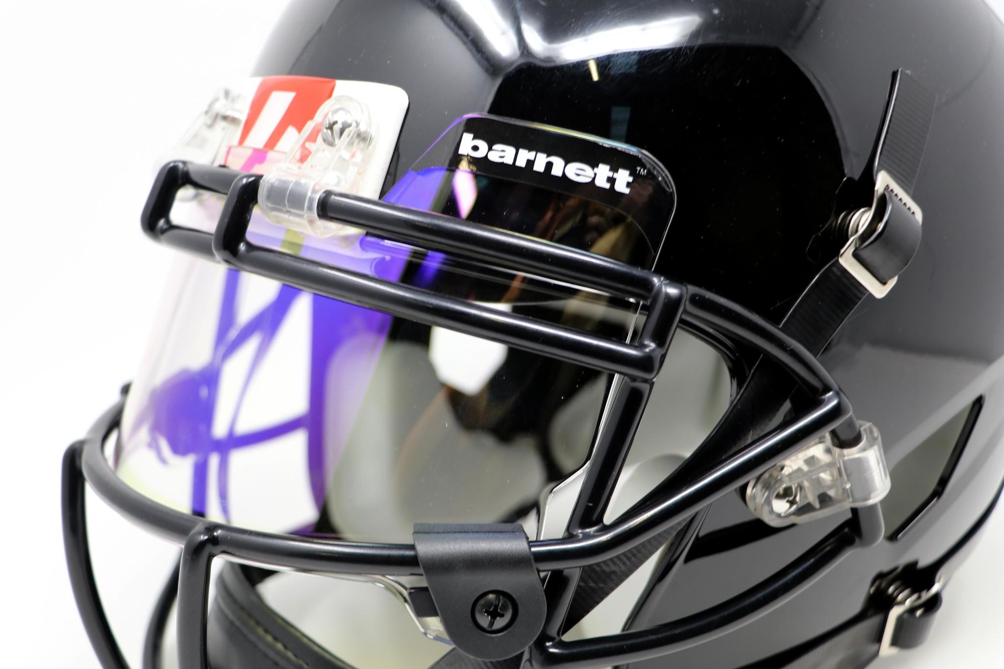 barnett Barnett Eyeshield / Visera de fútbol, Revo azul