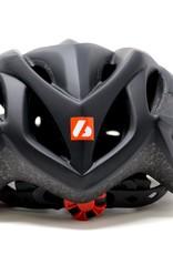 H93 Casco de Bicicleta y Roller Ski, NEGRO
