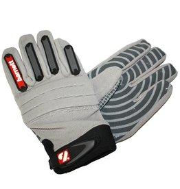 barnett FKG-02 Nueva generacion de guantes de fútbol americano para linebacker fit, LB,RB,TE, gris