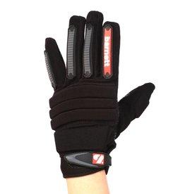 barnett FLG-02 Nueva generacion de guantes de fútbol americano lineman, OL,DL negro