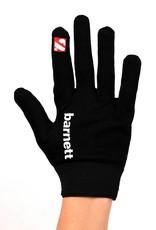 barnett FLGL-02 Nueva generación de guantes de fútbol americano para linebacker, RE,DB,RB, negro