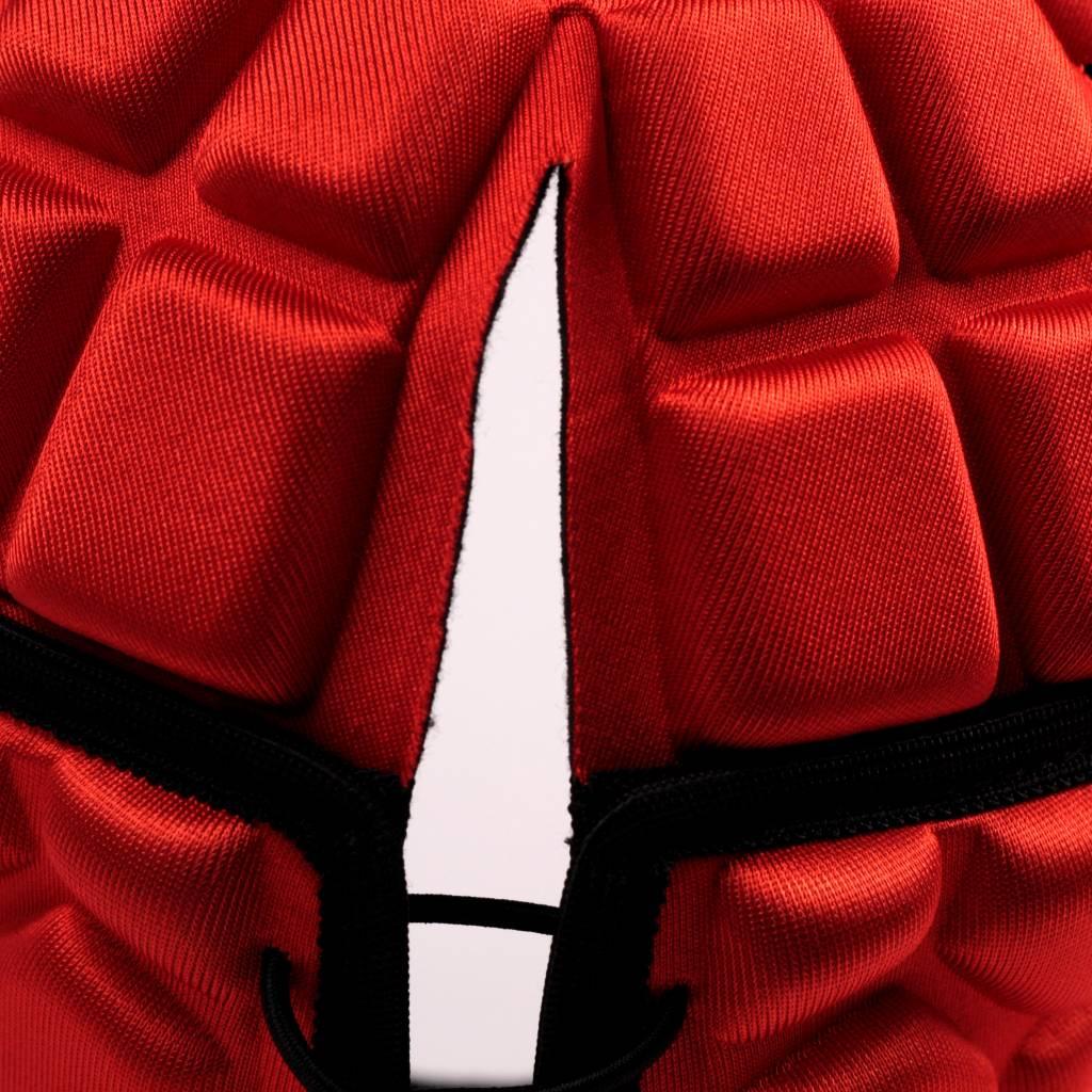 barnett HEAT PRO gorra de rugby, rojo
