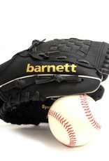"barnett JL-95 Guante de béisbol compuesto, Infield, tamaño 9.5"", negro"