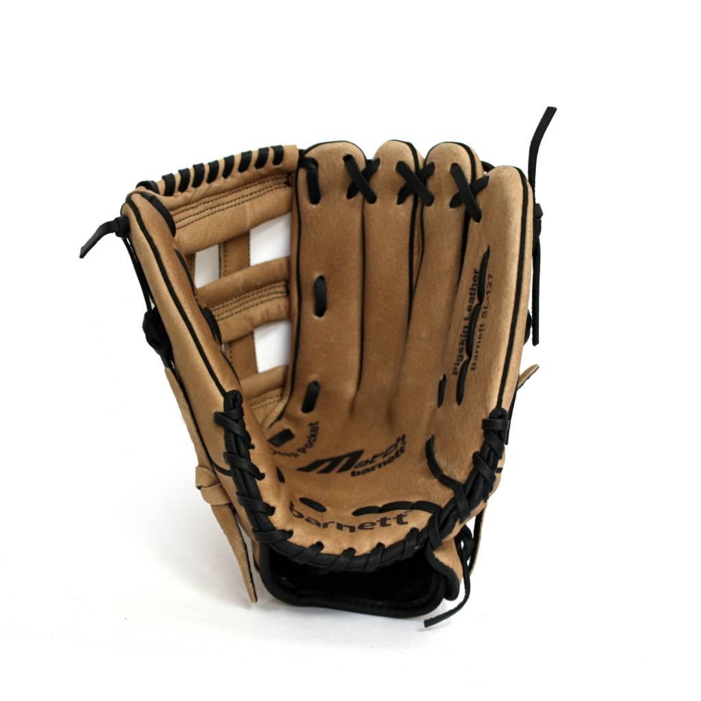 "barnett SL-127 Guante de beisbol,cuero, outfield 12.7"", marrón"