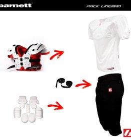 barnett Kit de fútbol, PRO, lineman