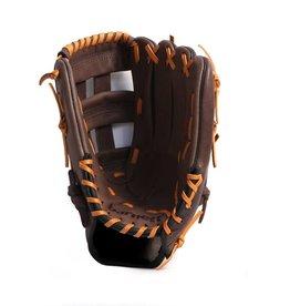 """barnett GL-125 Guante de beisbol de competición, cuero, outfield 12,5"""", marrón"""