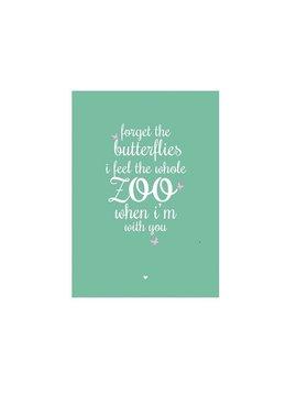 Kaart Butterflies