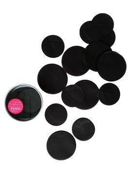 Huge confetti zwart
