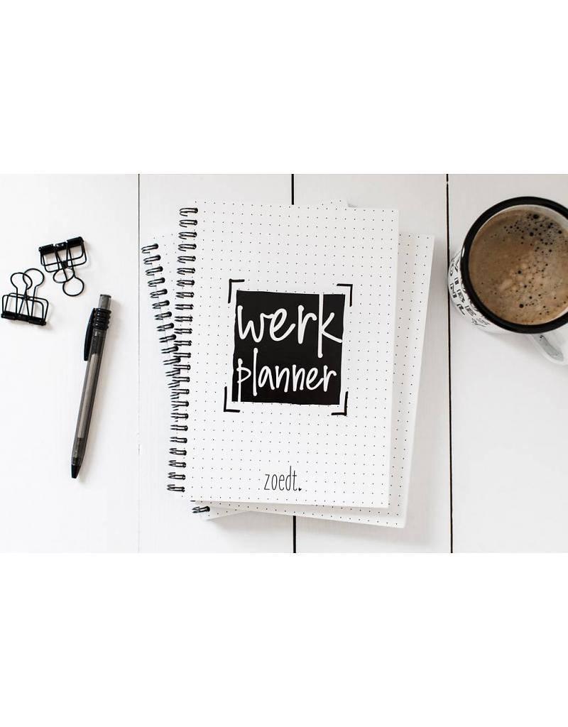 Werkplanner met bullits