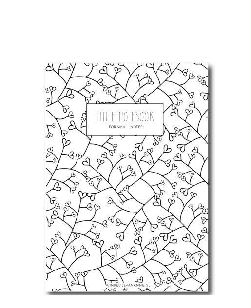 Notitieboekje Hearts