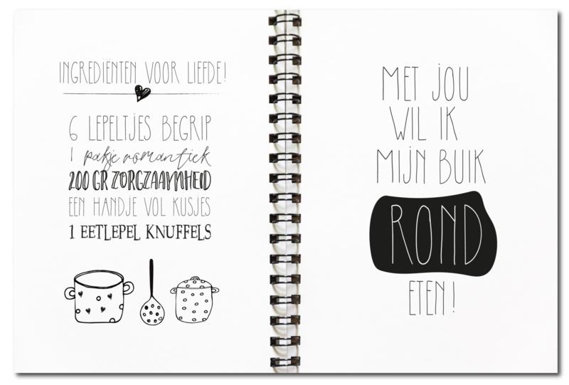 Recepten Invulboek A5