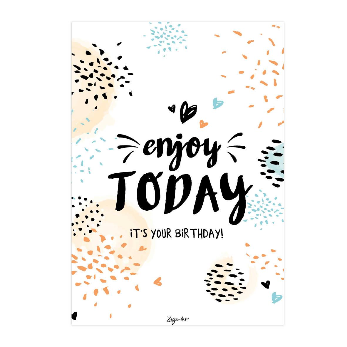 Kaart Enjoy today