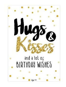 zusje-van Kaart Hugs & Kisses