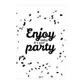 zusje-van Kaart enjoy today it's your party