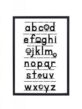 Poster 30x40 Alfabet