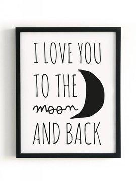 Poster 40x50 Moon (uitverkocht)