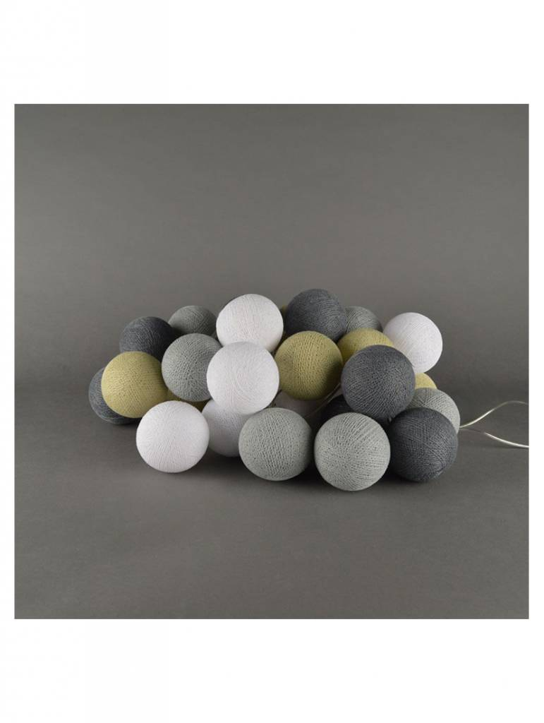 Cotton balls sand grey
