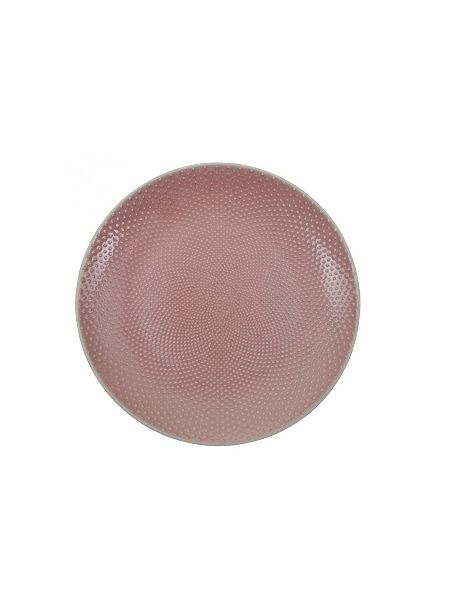 Bord 25cm roze