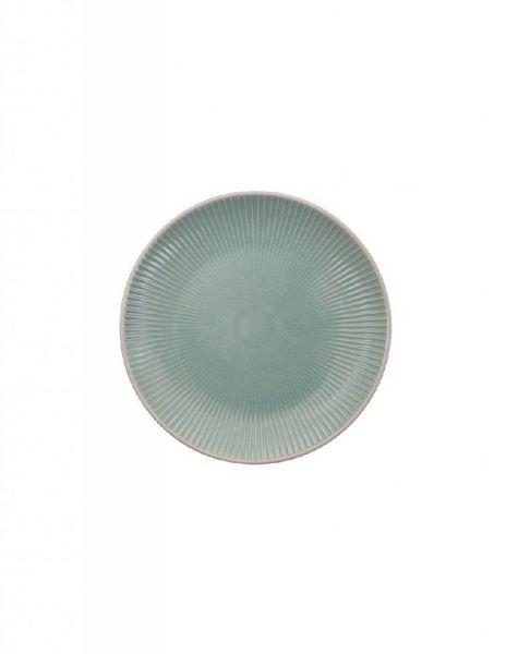 Bord 20 cm azuur blauw