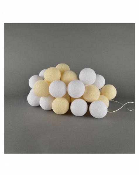 Cotton balls Shell & White