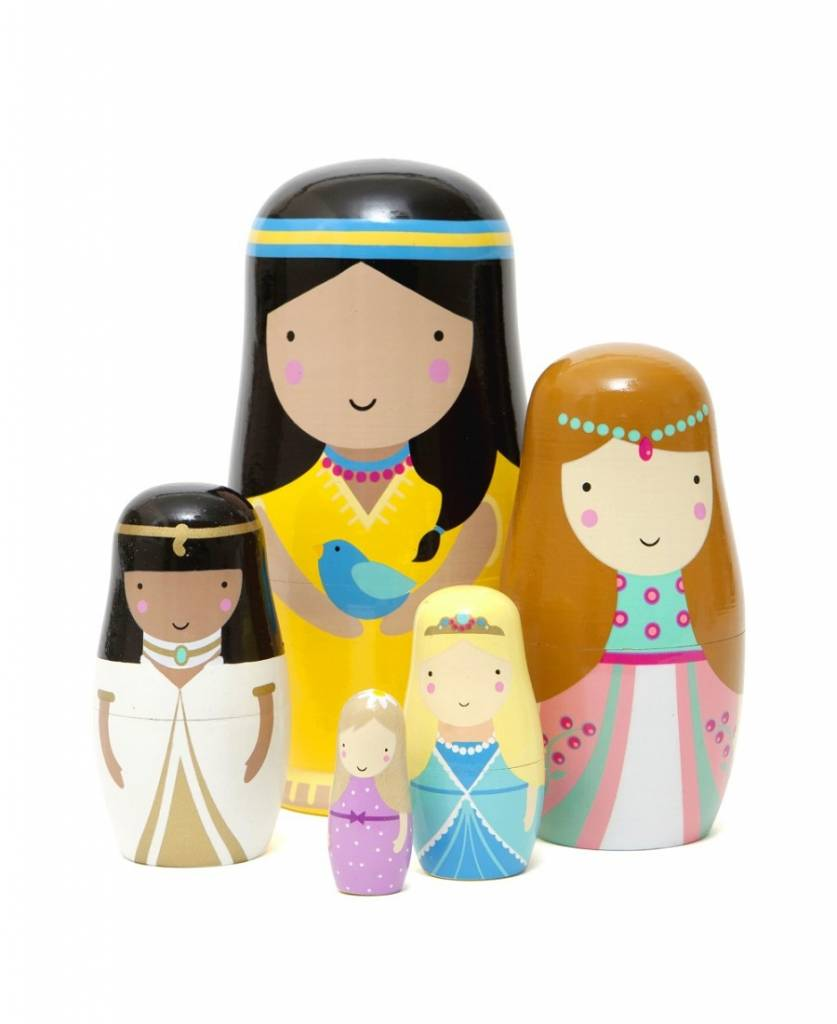 Nesting dolls - Babushka's prinses